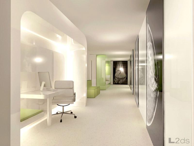 L2ds lumsden leung design studio women s medical for Interior clinic design